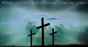 Holy Week/Easter Schedule