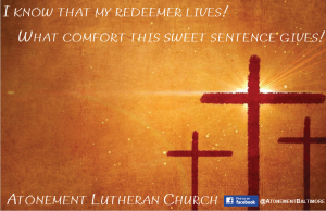 Atonement's Holy Week Schedule
