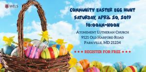 Community Easter Egg Hunt 2019