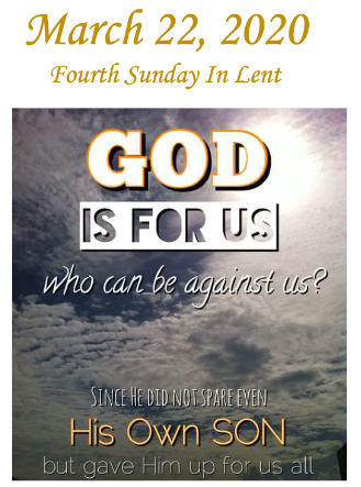 The Lord Has Set Us Free – 4th Sunday of Lent