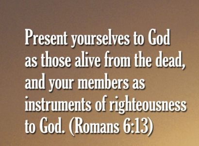6th Sunday After Pentecost – Live As Instruments of Righteousness