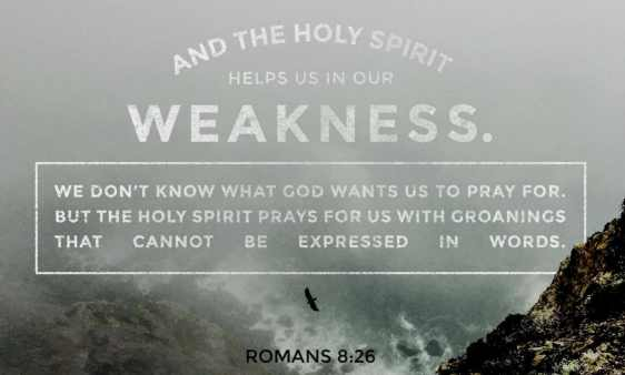 He Intercedes For Us