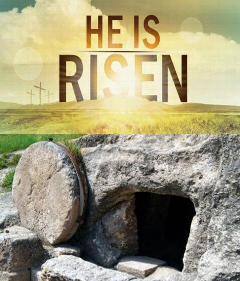 """""""Why do you look for the living among the dead? He is not here; He Is Risen! """""""